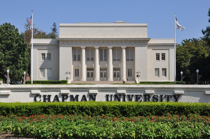 Williams Hall — Chapman University (Photo by Tom Arthur)